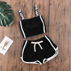 Cotton fabric, sunsuitclothe, pants, outfitset