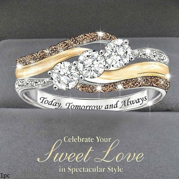 Sterling, DIAMOND, gold, Wedding
