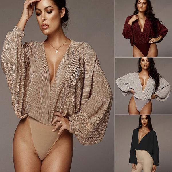 Deep V-Neck, Summer, fashion women, Fashion