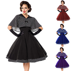 Summer, dressforwomen, Vestidos, knee length dress