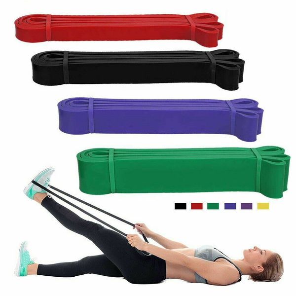 Exercise Bands Latex Plus Resistance Streching Band Pull Up Assist Bands Fitness