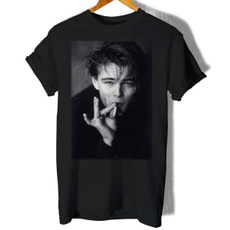 menfashionshirt, Cotton T Shirt, T Shirts, leonardodicapriowomentshirt