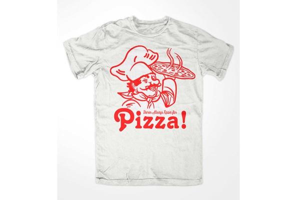 Pizza on Premium T-shirt bleu Pizza collation dönermann Fast Culte Fun