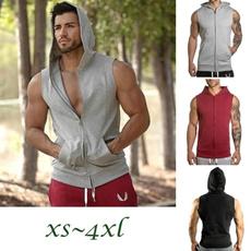 Fashion, Cotton Shirt, Fitness, hoodiesvest
