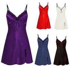 night dress, strapless, Fashion, Lace