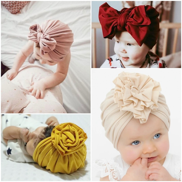 Baby Girl, Fashion, knitted hat, baby hats