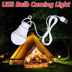 Light Bulb, campinglight, led, Hiking