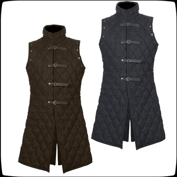Vest, Fashion, Cosplay, Medieval