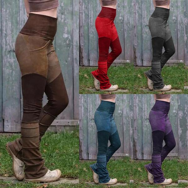 Fashion, Waist, Elastic, pants