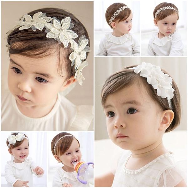 baptismheadband, Baby Girl, baptism, headdress