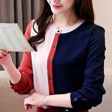 blouse, patchworktop, Fashion, Chiffon top