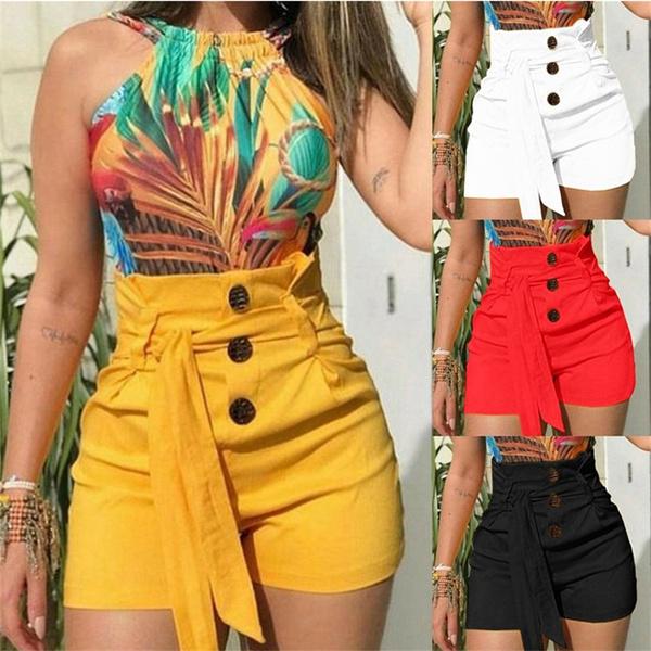 Summer, Shorts, high waist shorts, Lace
