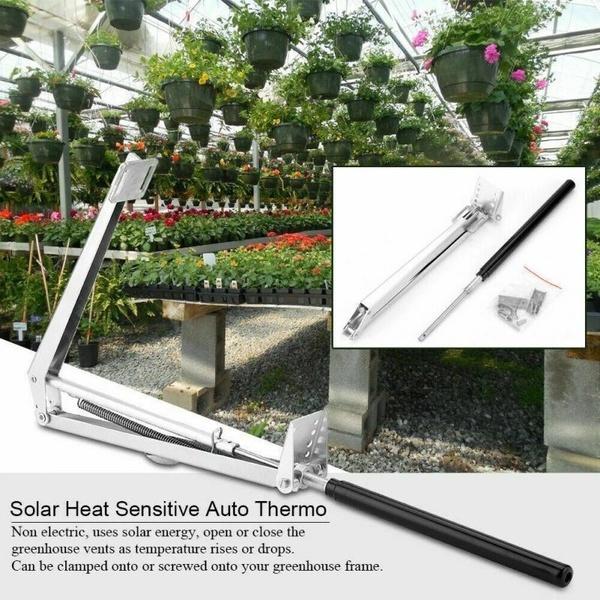 Yard, greenhousescoldframe, automaticthermoforwindow, shadecloth
