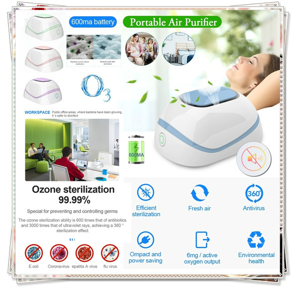 HOME Air Purifier Ozone Generator Ionizer Smoke Remover Cleaner Sterilization