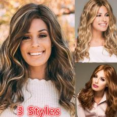 wig, Long wig, Cosplay, Hair Extensions
