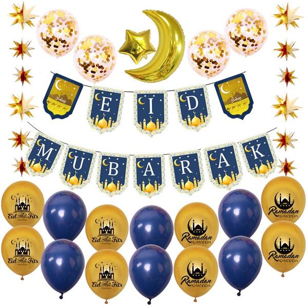 goldballoon, eidmubarak, Garland, balloonsset