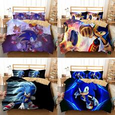 animebeddingset, sonic, beddingsetsqueen, Home & Kitchen