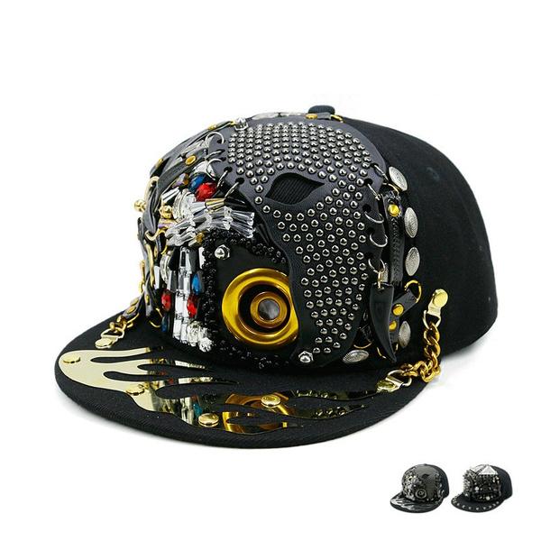 rivetsnapback, Punk Hats, Fashion, snapback cap