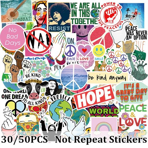 luggagesticker, Love, hippie, vscosticker
