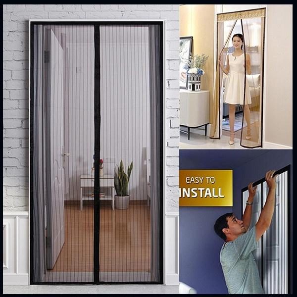meshdoorcurtain, Summer, Door, doorscreen