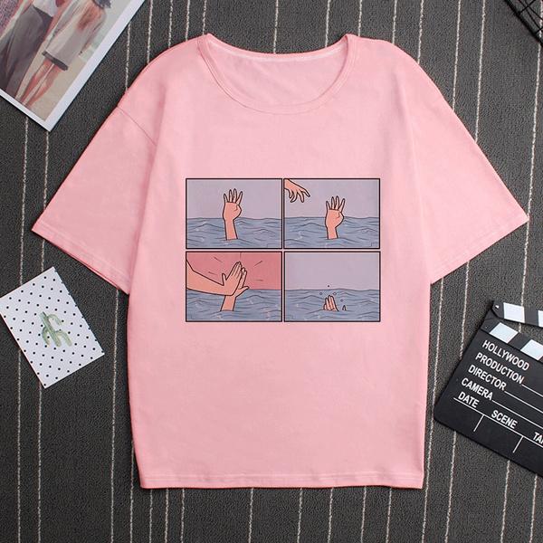 pink, Funny, Fashion, Shirt