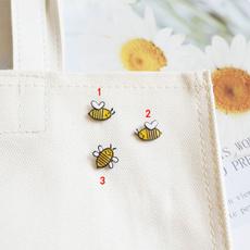 Mini, brooches, Pins, cute