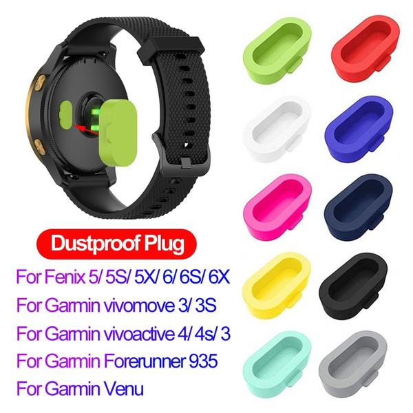 garminfenixdustproofplug, case, fenix5plusdustproofplug, siliconedustproofplug