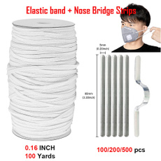 Heavy, nosebridgestrip, maskrope, Aluminum