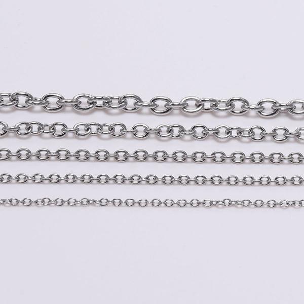 Steel, diyjewelry, Jewelry, Chain