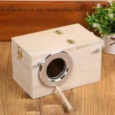 Box, birdbreedingbox, house, paulownia