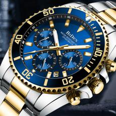 Chronograph, Steel, Men Business Watch, chronographwatch