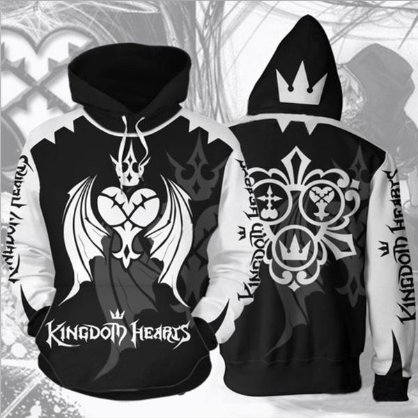Heart, kingdomheartshoodie, hooded, Zip