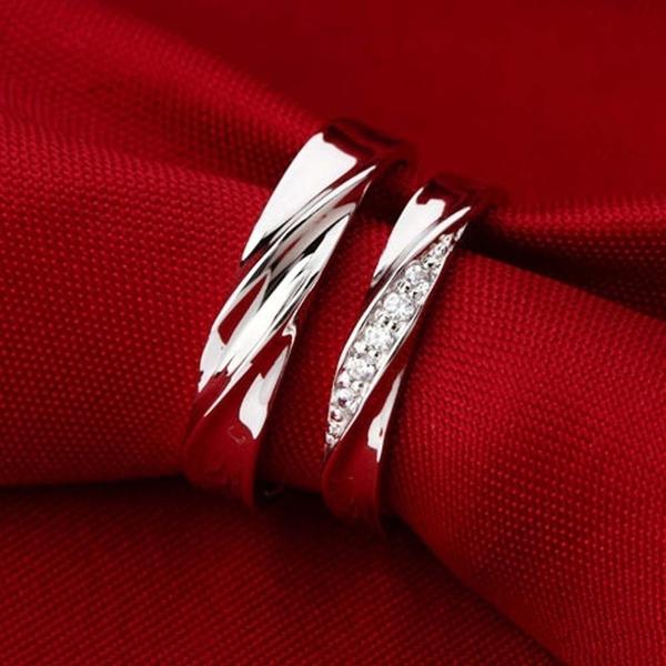 Couple Rings, Jewelry, s925, Diamond Ring