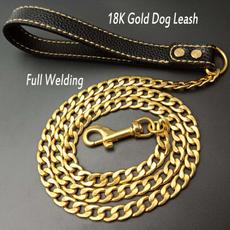 goldpetchain, dogchain, Chain, golddogleash