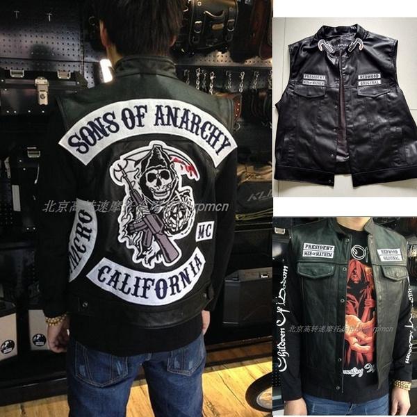 Vest, Fashion, Men's Fashion, leather