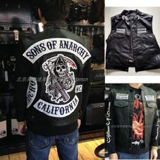 Vest, Мода, Чоловіча мода, leather