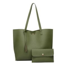 Fashion women's handbags, softpuleatherbag, Fashion, Capacity