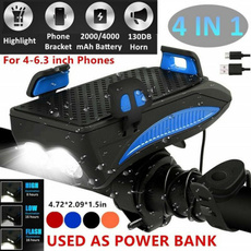 Flashlight, bikeaccessorie, Mobile Power Bank, cyclinglightholder