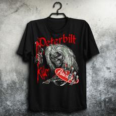Fashion, Cotton T Shirt, skull, lettertshirt