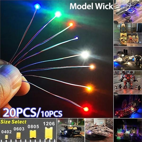 modelrailroadlamp, Led Lighting, prewiredsmdled, modelrailwaylight