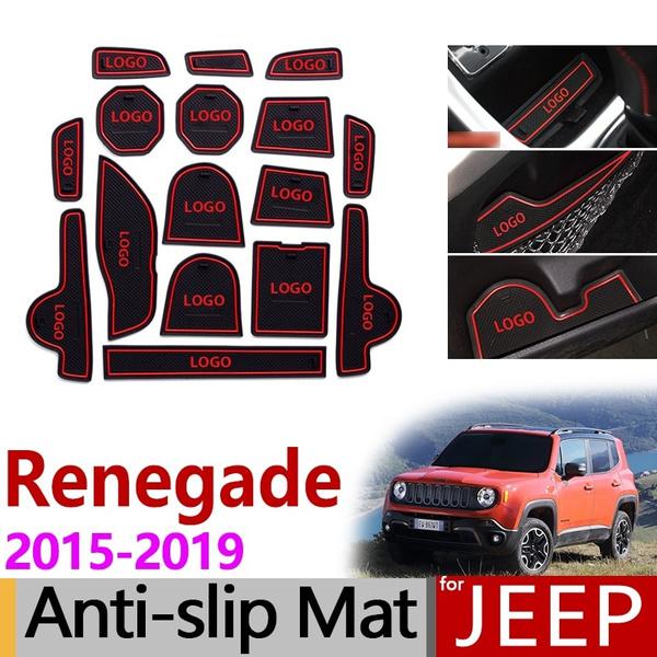 jeeprenegade20152019bu, gateslotmat, Cup, rubberpad