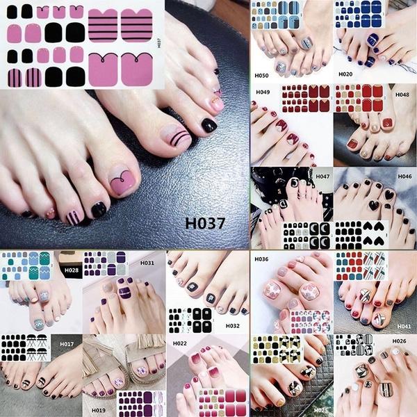 toenailsticker, Colorful, Waterproof, Nail Art Accessories