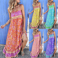 Summer, Plus Size, Fashion, long dress