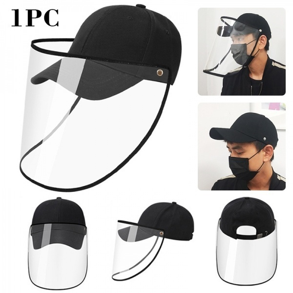 antispitting, Outdoor, faceprotectivehat, Cap