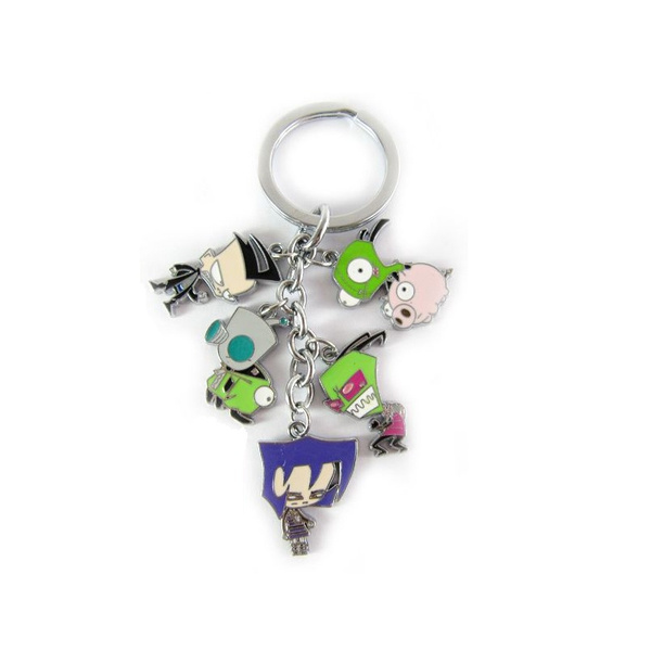 Gifts For Her, Key Chain, gift for him, invaderzim
