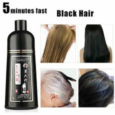graywhitehairtoblackhair, Gris, Shampoo, fast