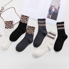 Cotton Socks, Cotton, animal print, Socks