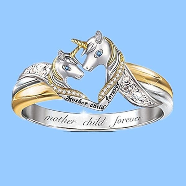 Sterling, Fashion, Love, unicornring