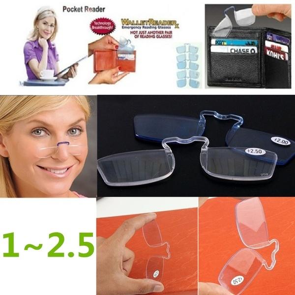 Reading Glasses, walletglasse, oldreadingglasse, Clip