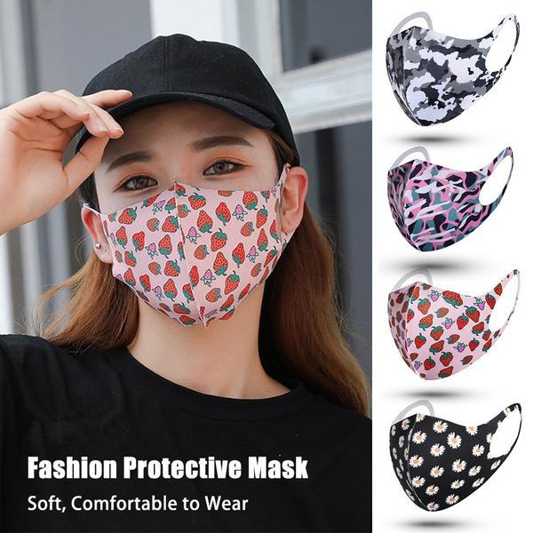 washable, protectivemask, daisyrosepink, Breathable